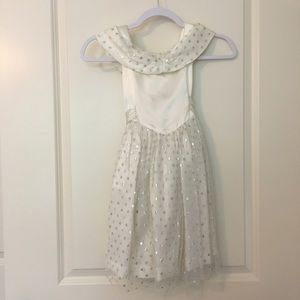 VINTAGE Eve Too Creme, Tulle & Silver Dress